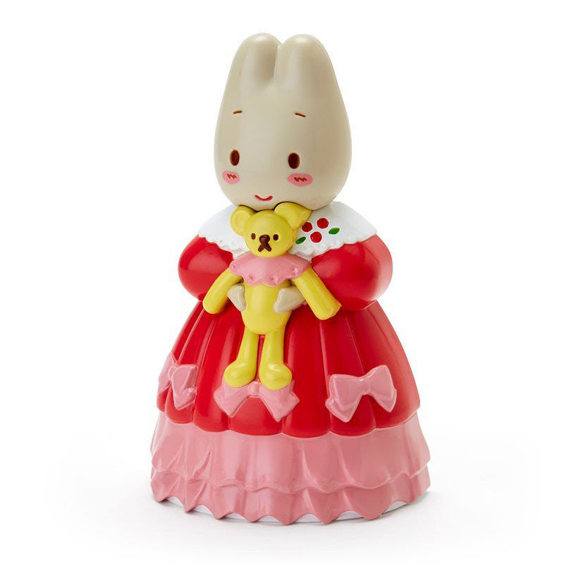 Marron Cream Hairbrush Doll Shape Stand Sanrio Japan