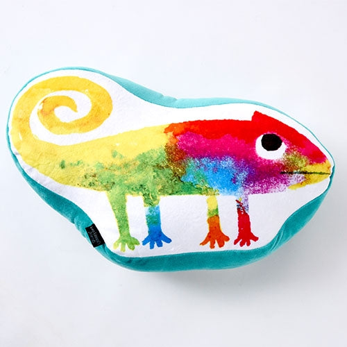 A Color of His Own Chameleon Cushion Die-cut Leo Lionni Japan