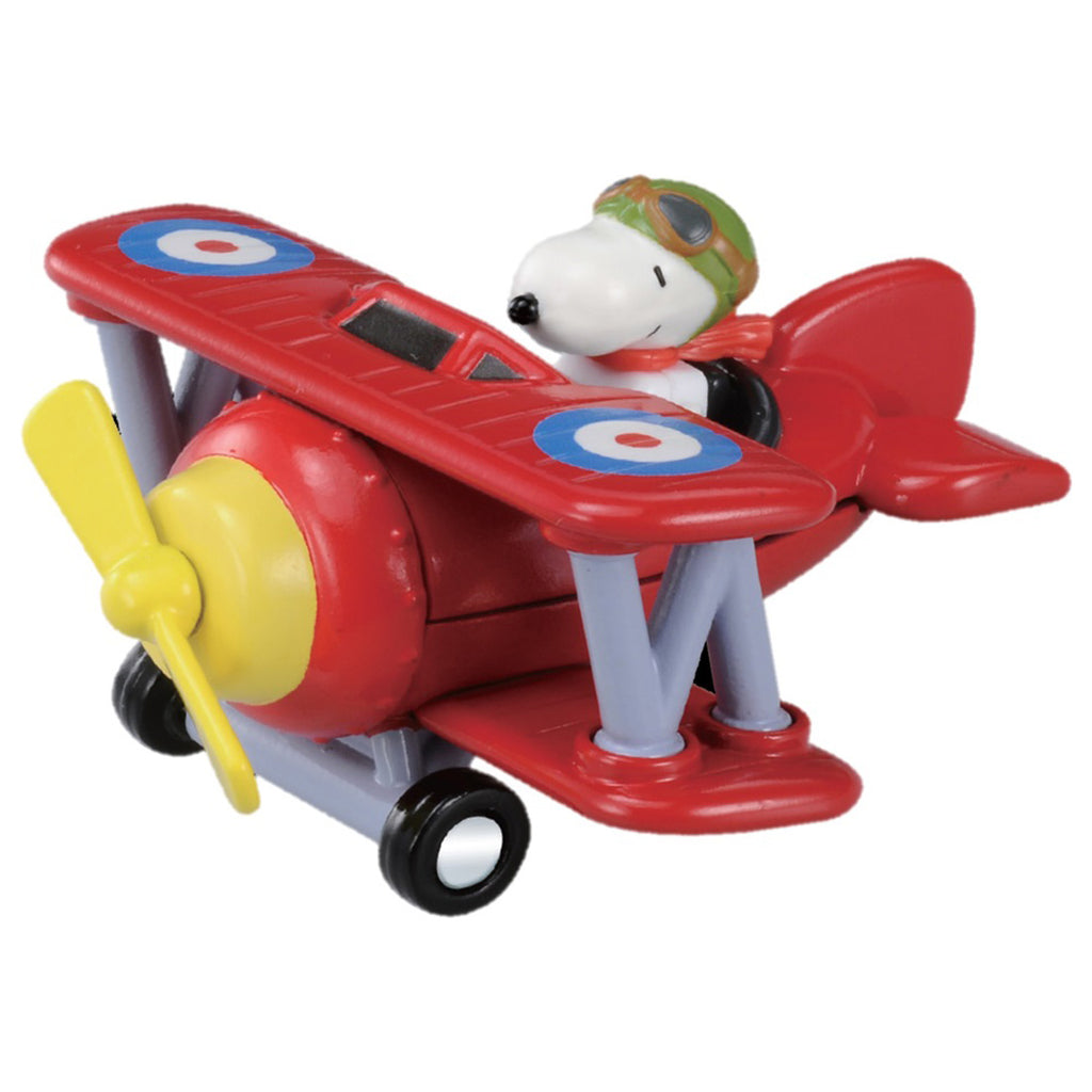 Ride-On R08 Snoopy Flying Ace Toy Airplane Dream Tomica Takara Tomy Japan