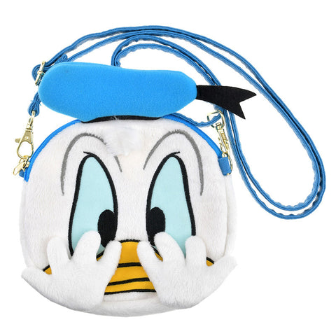 Donald Plush Smartphone Mobile Pochette Pouch Close-up Disney Store Japan