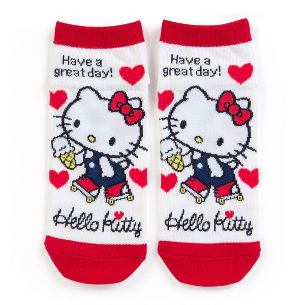 Hello Kitty Sneaker Socks Roller Skate Sanrio Japan