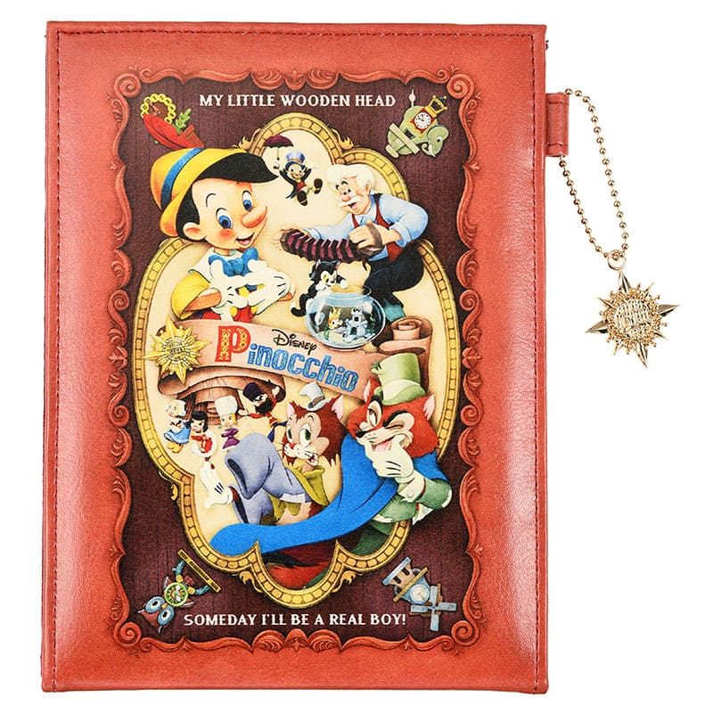 Folding Mirror Pinocchio 80th Disney Store Japan