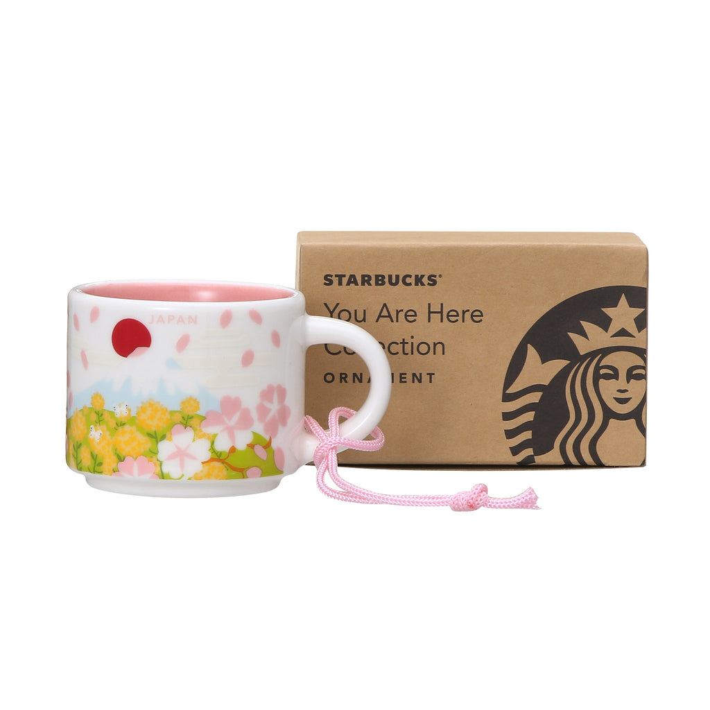 You Are Here Collection Mug Cup Spring 59ml Starbucks Japan Sakura 2019