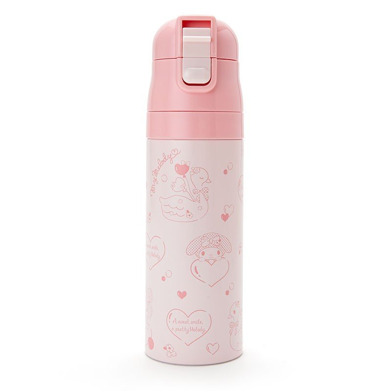 My Melody Stainless Bottle 470ml with Shoulder & Cover Sanrio Japan