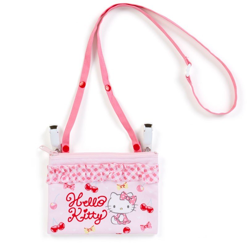 Hello Kitty Shoulder Pocket Pouch Sanrio Japan 2019