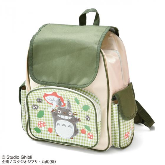 My Neighbor Totoro Kids Backpack Mushroom Studio Ghibli Japan