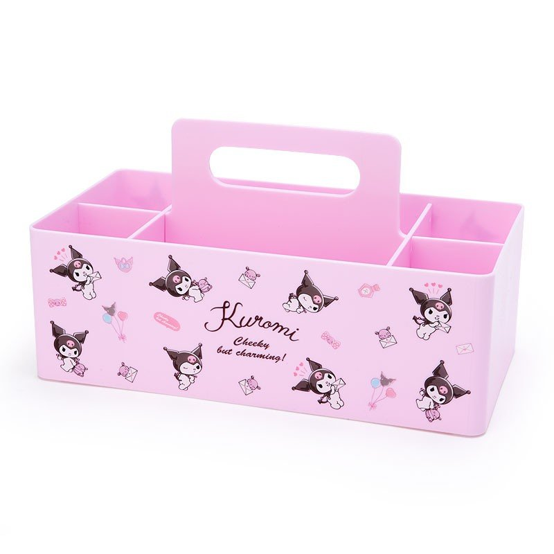 Kuromi Carry Storage Box Sanrio Japan