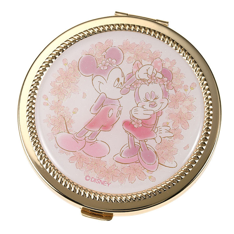 Mickey & Minnie Hand Mirror Sakura 2020 Disney Store Japan
