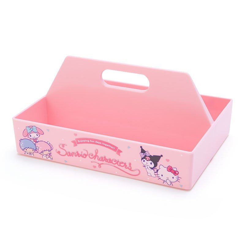 Storage Box mini Carry Character Pink Sanrio Japan