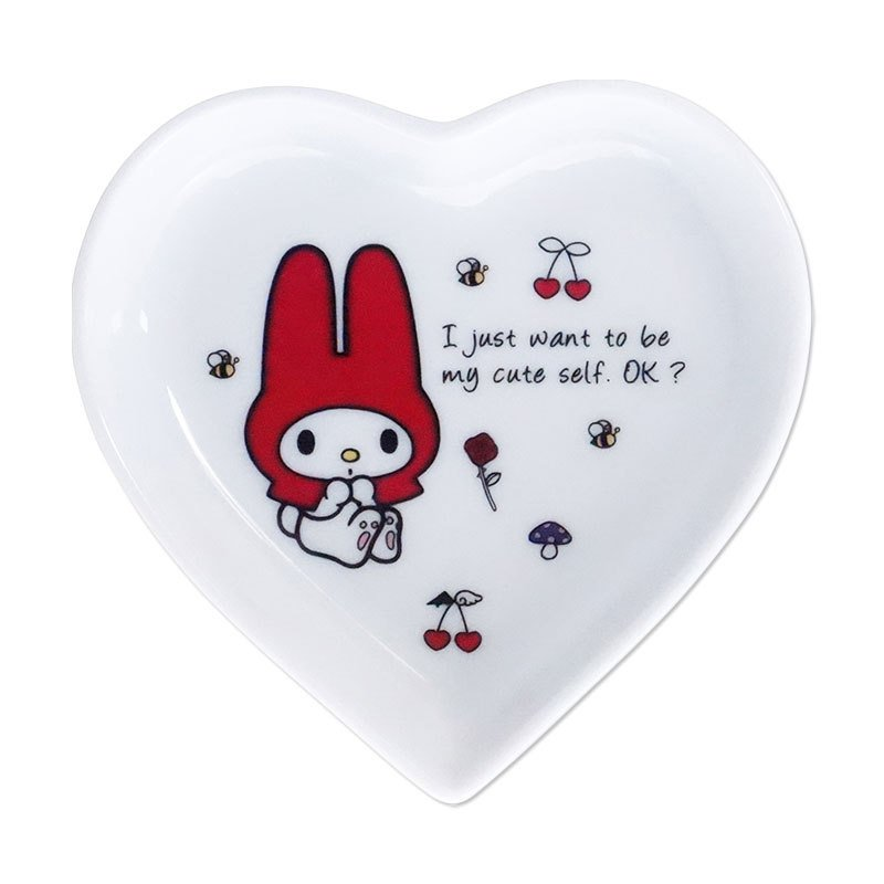 My Melody mini Plate Heart bis Sanrio Japan
