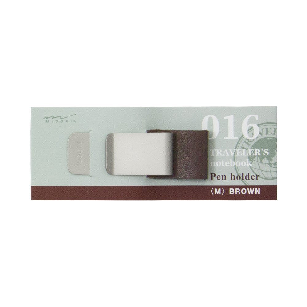 Midori TRAVELER'S Notebook Pen Holder M Brown 016 from Japan