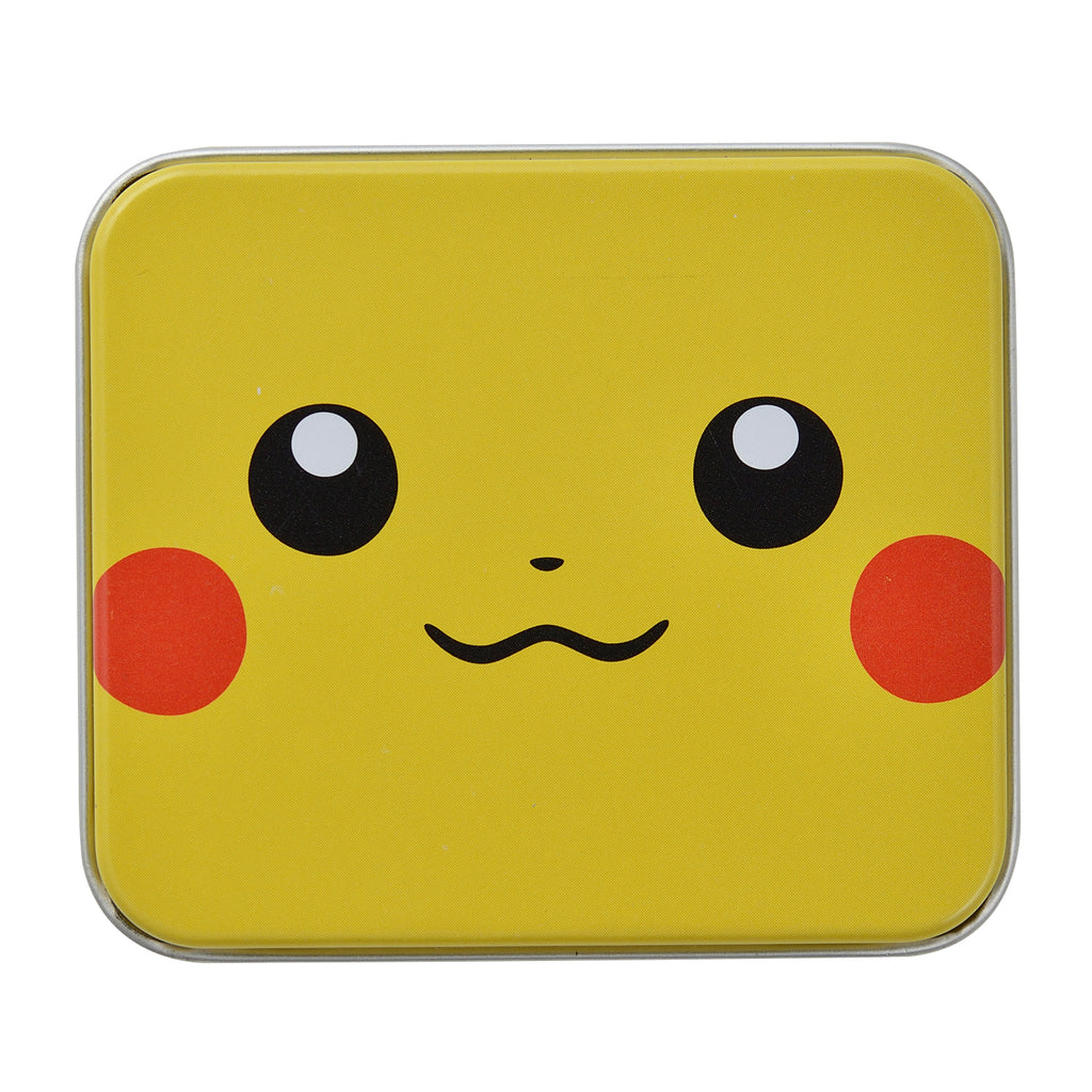 Pikachu Damage Counter Tin Case Face Pokemon Center Japan Original