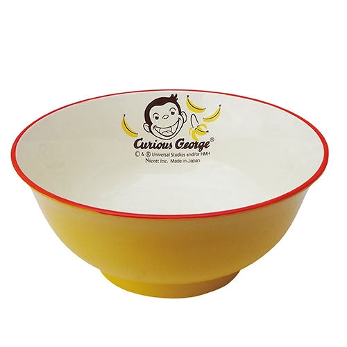 Curious George Kids Baby Big Bowl Banana Japan LIC-0217