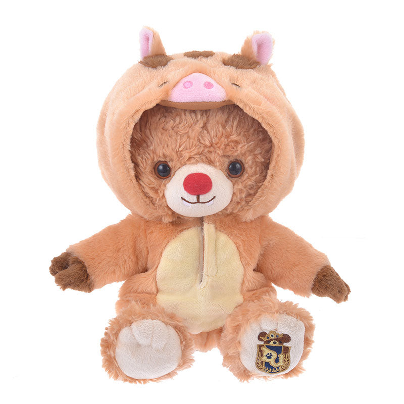 UniBEARsity Costume for Plush Doll Boar Pig Disney Store Japan New Year 2019