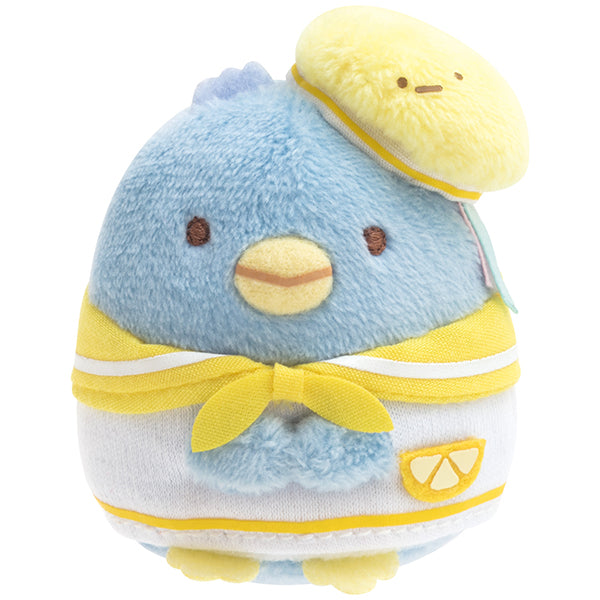 Sumikko Gurashi Real Penguin mini Tenori Plush Doll Penpen Fruits San-X Japan