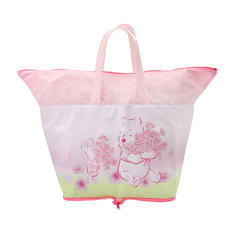 Winnie the Pooh Piglet Eco Shopping Tote Bag Cool Sakura 2020 Disney Store Japan