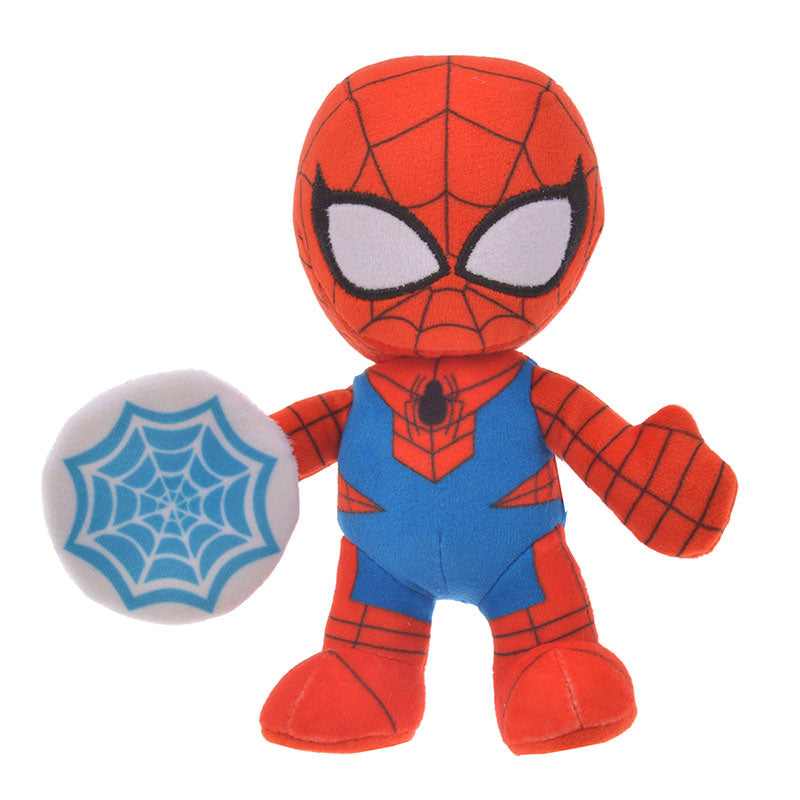 Marvel Spider-Man Plush Doll Deformed Disney Store Japan