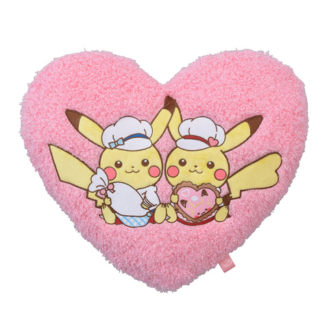 Cushion Pikachu's Sweet Treats Valentine 2018 Japan Pokemon Center