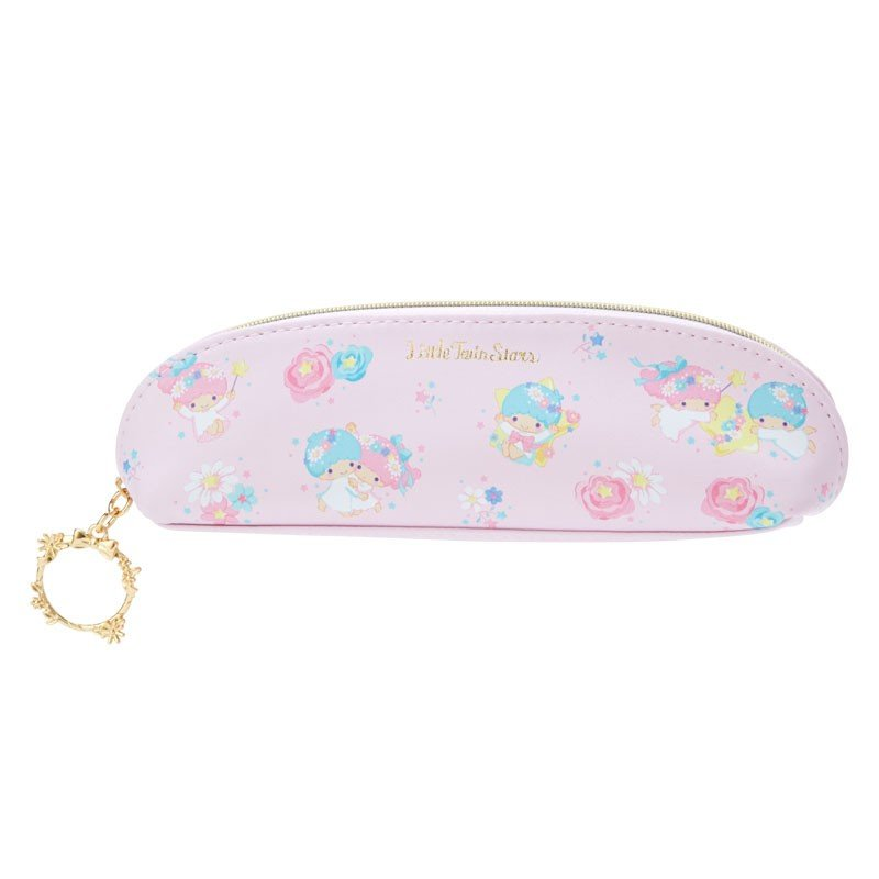 Little Twin Stars Kiki Lala Slim Pen Case Pouch Happiness Girl Sanrio Japan