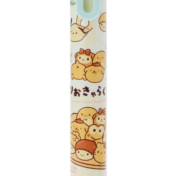 5 Color Ballpoint Pen Mechanical Pencil Pull Apart Bread Sanrio Japan