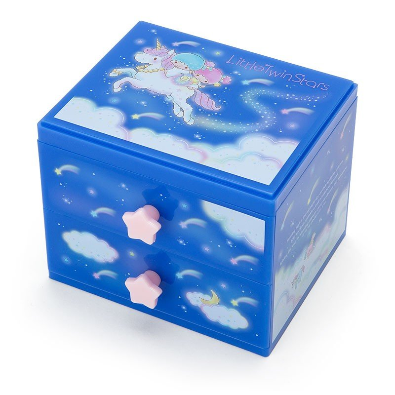 Little Twin Stars Kiki Lala Plastic Chest Shooting Star Dream Sanrio Japan
