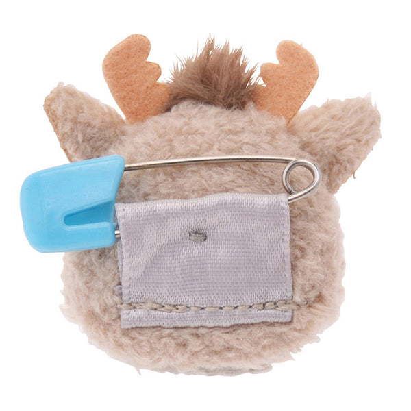 TSUM TSUM Plush Badge - Sven Frozen Stuffed toy Disney Store Japan 2015 Gift