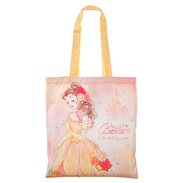 Belle Shopping Eco Tote Bag Pearl Disney Store Japan Beauty and the Beast