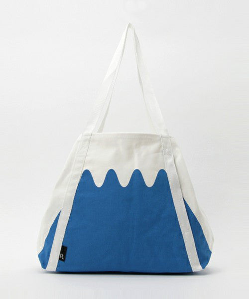 ROOTOTE FUJI ROO Canvas Tote Bag Blue Japan