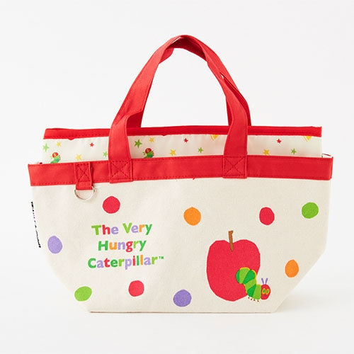 The Very Hungry Caterpillar Lunch Tote Bag 2WAY Red Japan 2019
