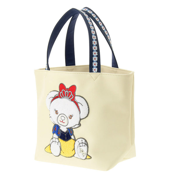 UniBEARsity Apfel Rose Snow White mini Tote Bag Disney Store Japan