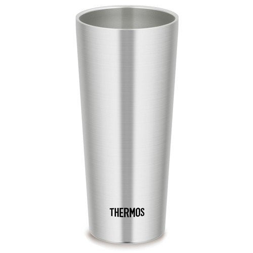 Vacuum double structure Stainless Tumbler 400ml JDI-400-S Thermos Japan