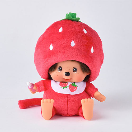 Monchhichi Doll S Sit Strawberry Japan