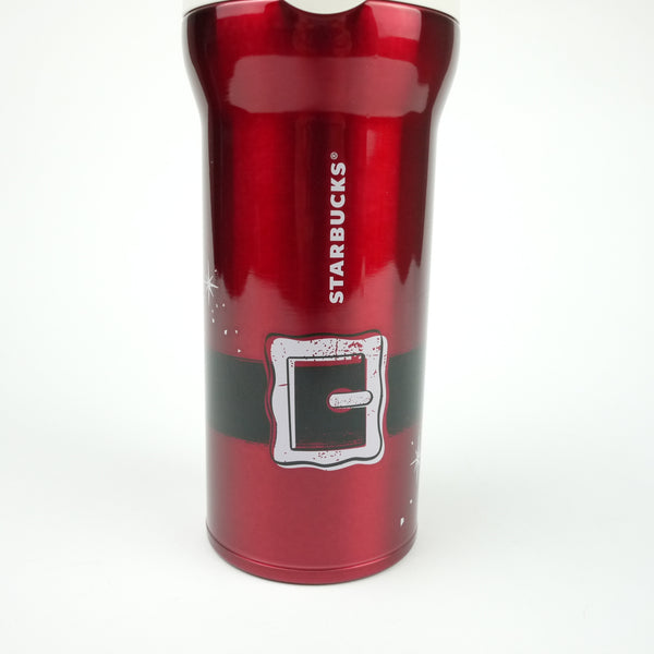 Starbucks Christmas Japan 2014 Handy Stainless Tumbler Belt Xmas 360ml Santa Red