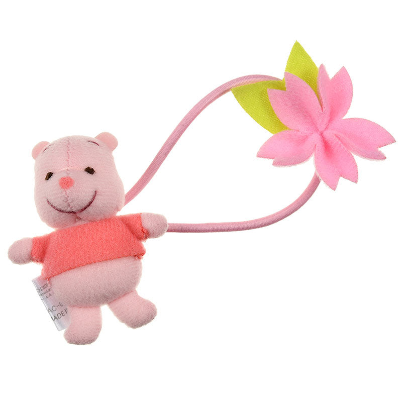 Winnie the Pooh Plush Ponytail Holder Sakura 2020 Disney Store Japan