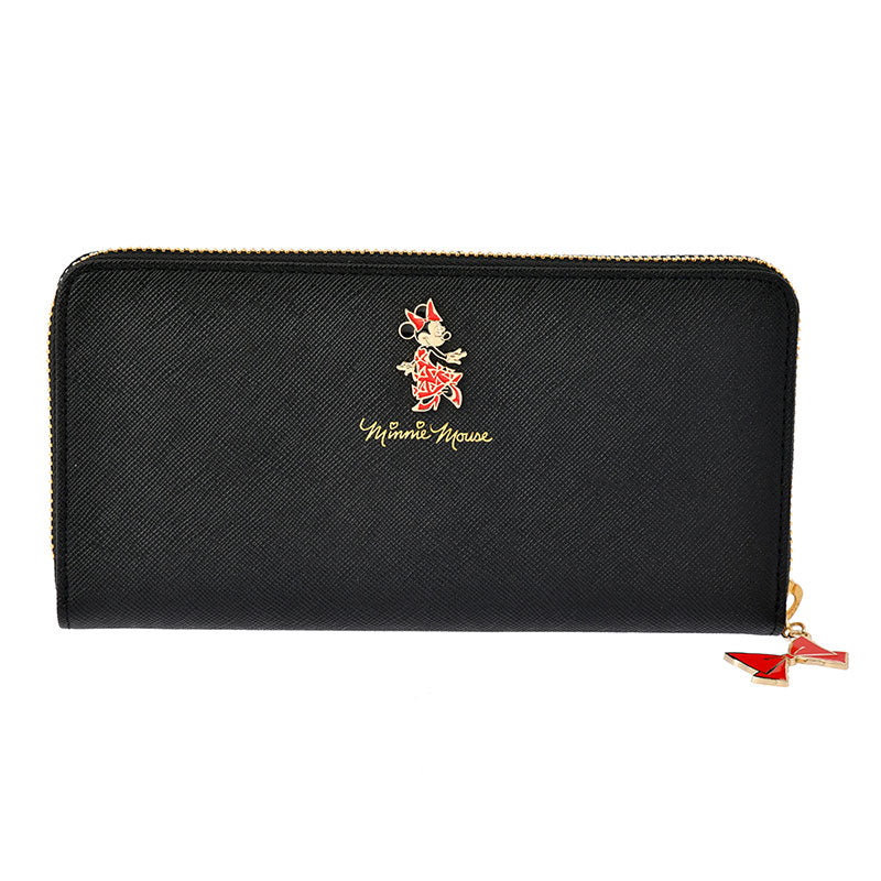 Minnie Day 2020 Zipper Long Wallet LANVIN en Bleu Disney Store Japan