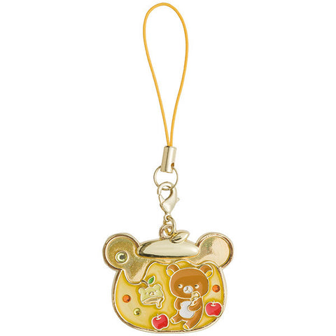 Rilakkuma Charm Strap Honey Forest Harvest Festival San-X Japan