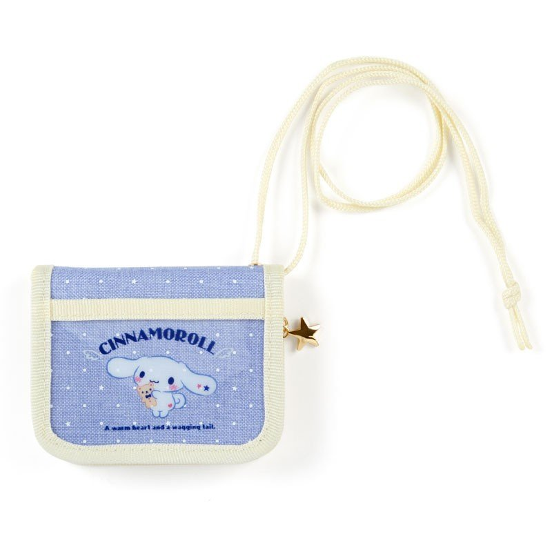 Cinnamoroll Wallet with Rope Dot Sanrio Japan