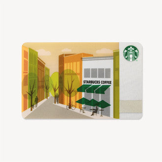 Starbucks Card Japan 2014 Street