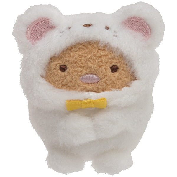 Sumikko Gurashi Tonkatsu Mouse mini Tenori Plush Doll San-X Japan New Year