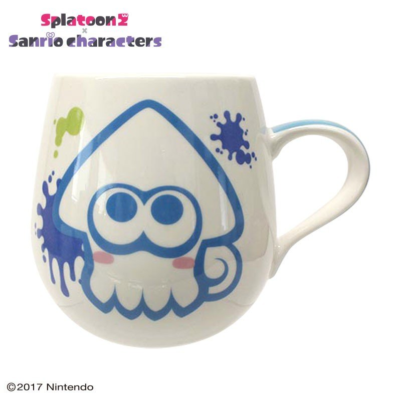Cinnamoroll Mug Cup Squid Splatoon 2 Sanrio Japan