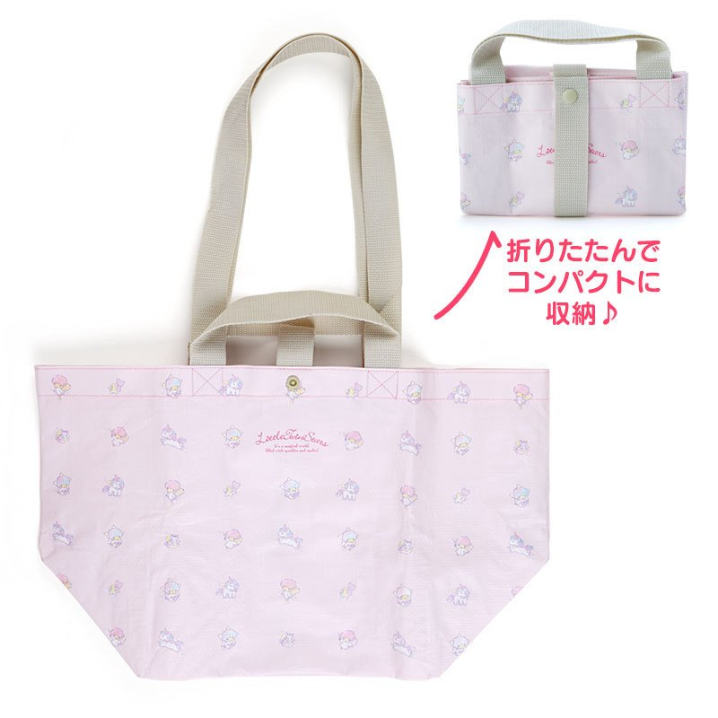 Little Twin Stars Kiki Lala PP Tote Bag Sanrio Japan