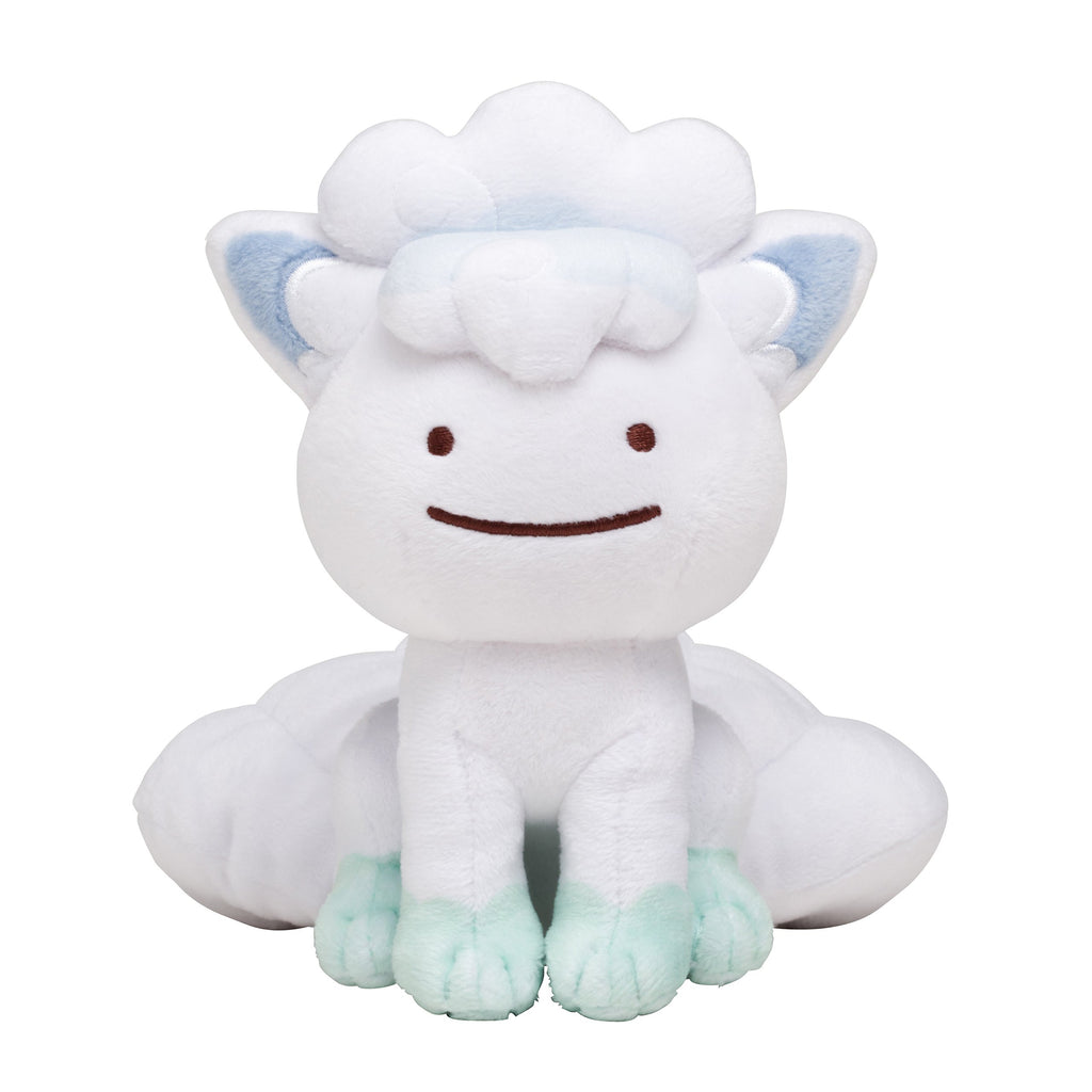 Alolan Vulpix Rokon Plush Doll Transform! Metamon Pokemon Center Japan Original