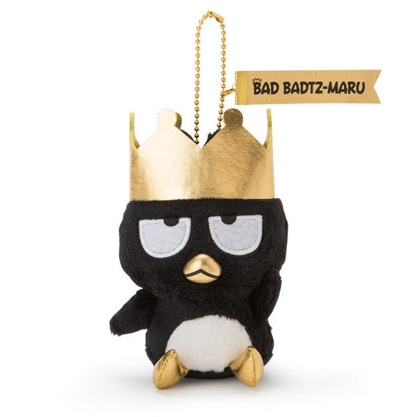 Bad Badtz-Maru Plush Mascot Holder Keychain Gorgeous birthday Sanrio Japan