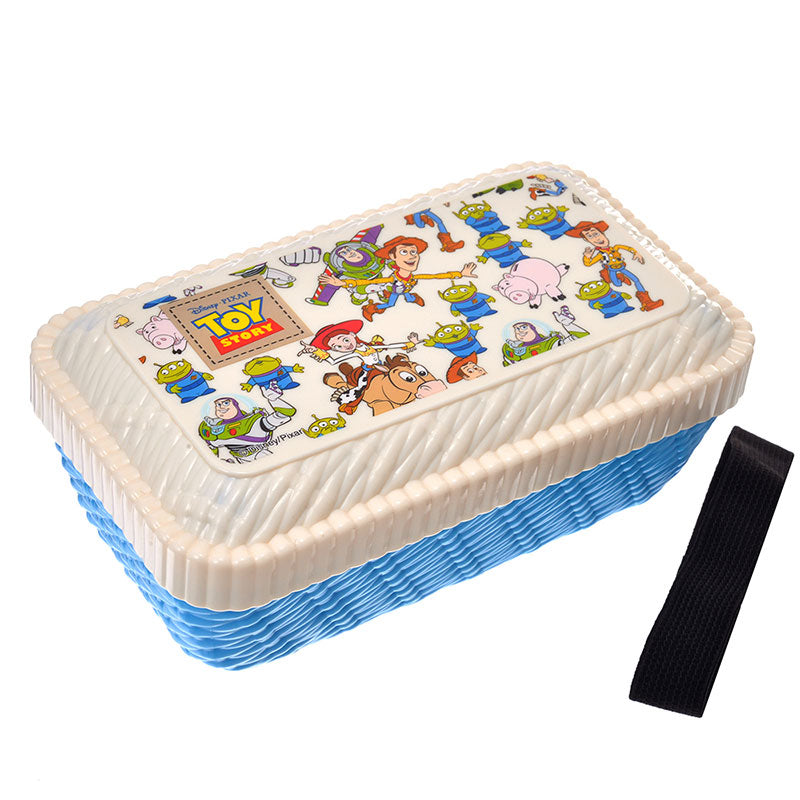 Toy Story Lunch Box Bento Rattan Basket style Disney Store Japan