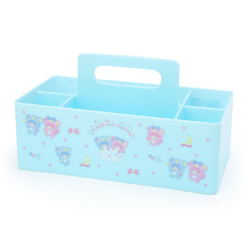 Little Twin Stars Kiki Lala Carry Storage Box Sanrio Japan