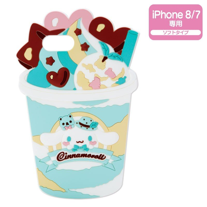 Cinnamoroll iPhone 7 8 Case Cover Chocolate Mint Sanrio Japan