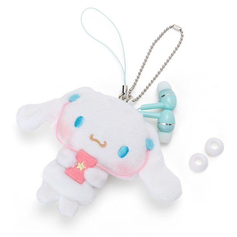 Cinnamoroll Mascot Earphone with Reel Sanrio Japan