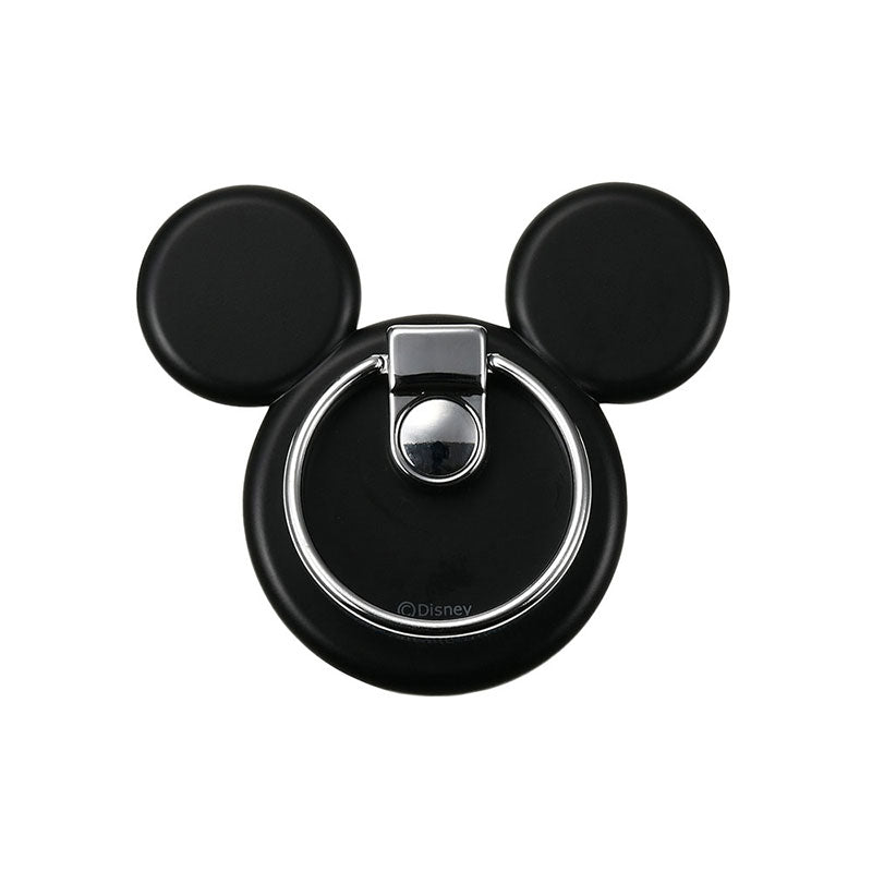 Mickey Smartphone Ring Icon Black Disney Store Japan