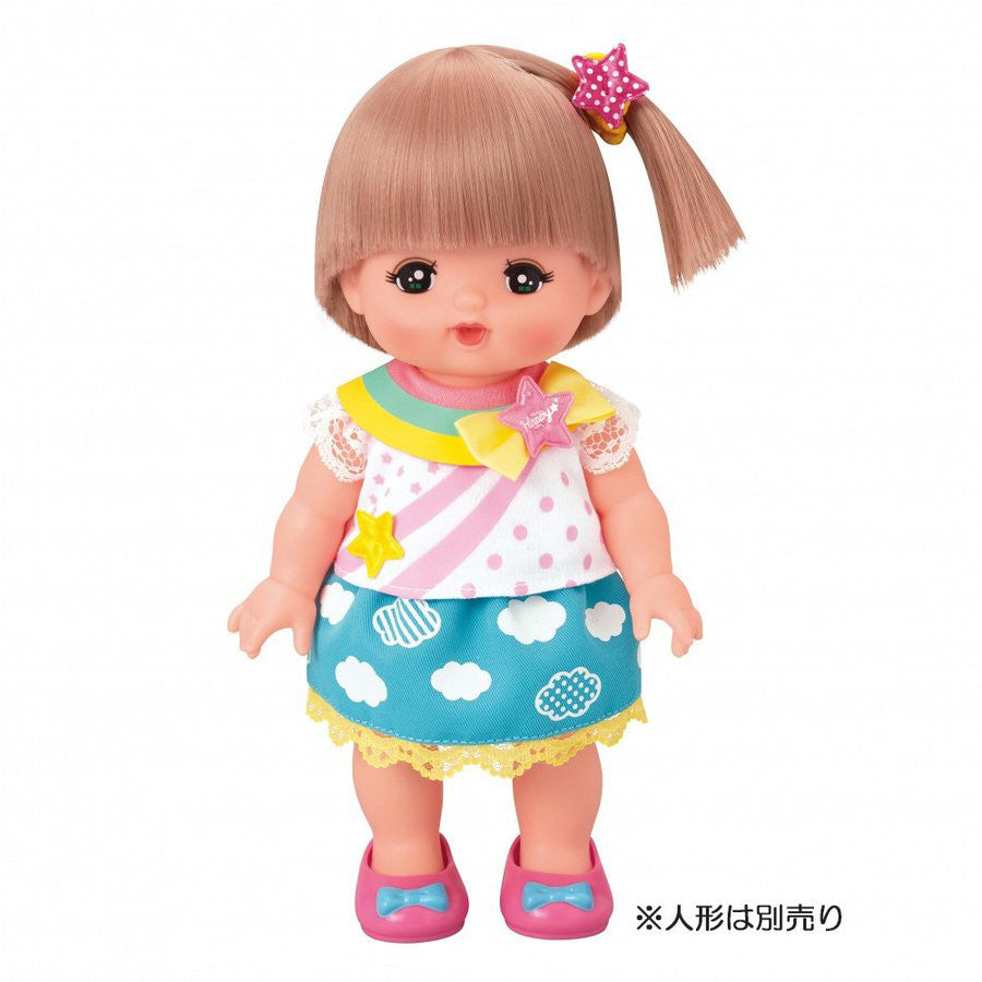 Costume for Mell Chan Rainbow Corde Pilot Japan Pretend Play Toys