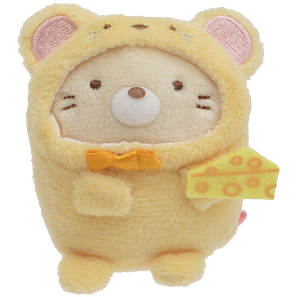 Sumikko Gurashi Neko Cat Mouse mini Tenori Plush Doll San-X Japan New Year